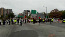 Blocking NY Ave for Terrence Sterling